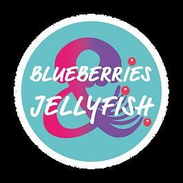 Blueberries & Jellyfish Logo