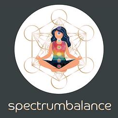 Spectrum Balance White Circle_Grey Backg