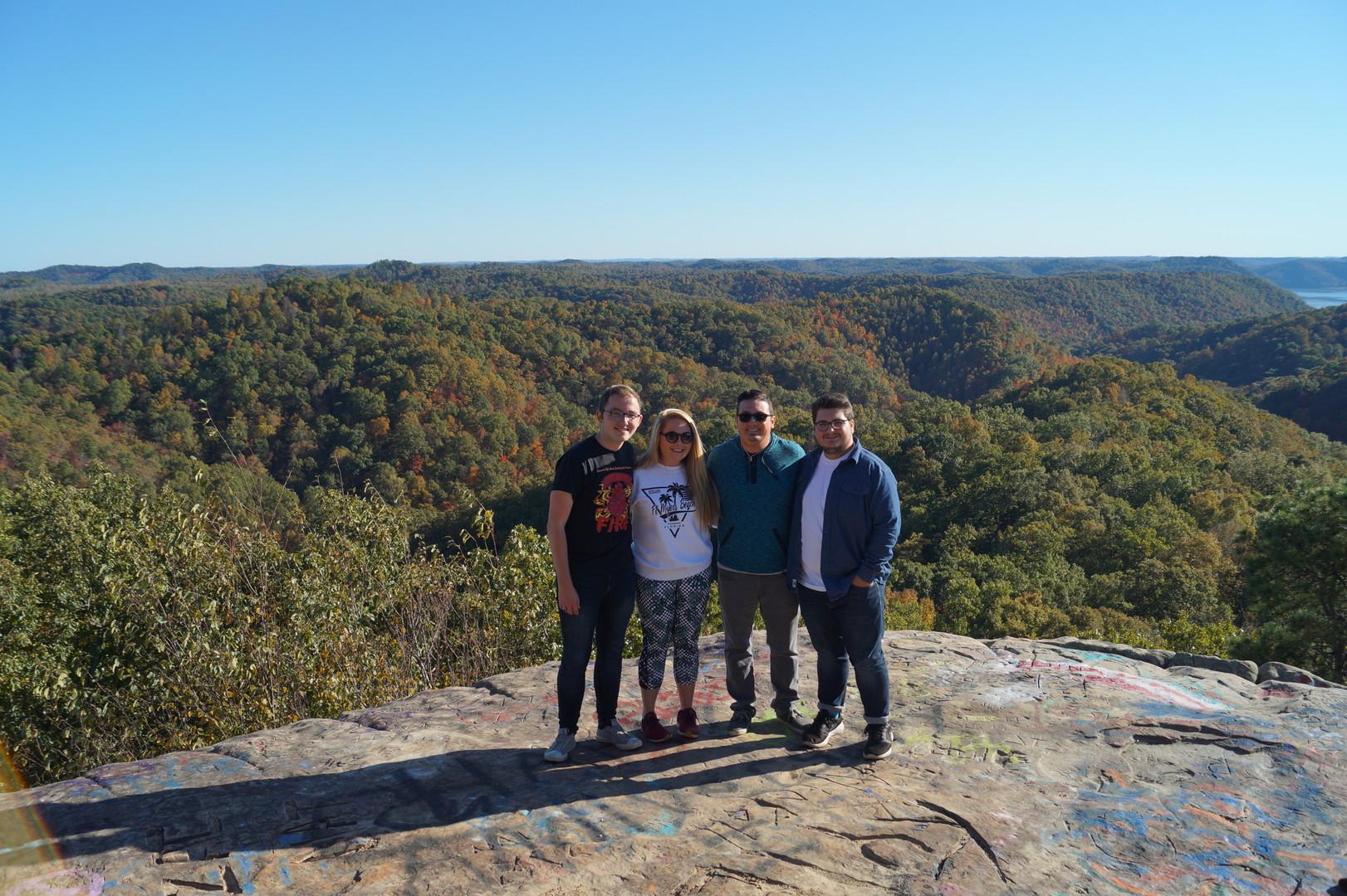 Lockegee Quartet 2019 at Lockegee Rock