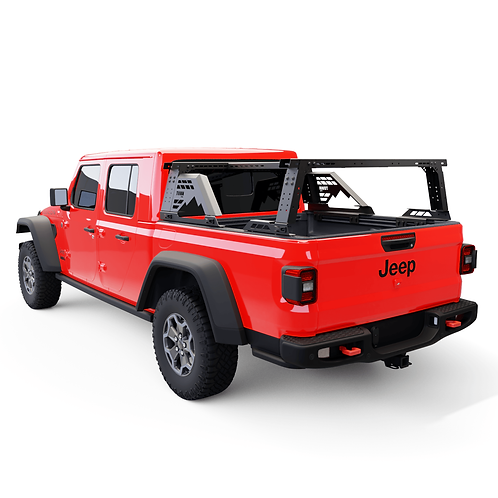 JEEP GLADIATOR MOAB BEDRACK WITH ADD 4CX ROOF BAR