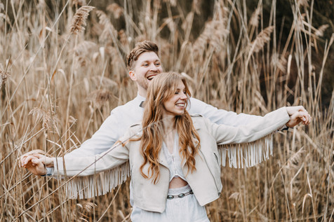 Verlobungsshooting im Boho-Look