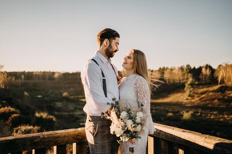 Brautpaarshooting in Brüggen