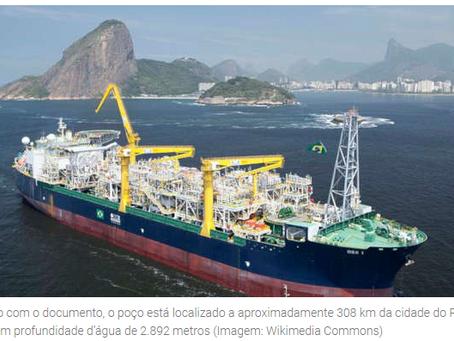 Petrobras descobre partículas de petróleo em novo poço no pré-sal...