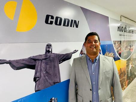 Conselho de Administração elege novo diretor-presidente da CODIN...