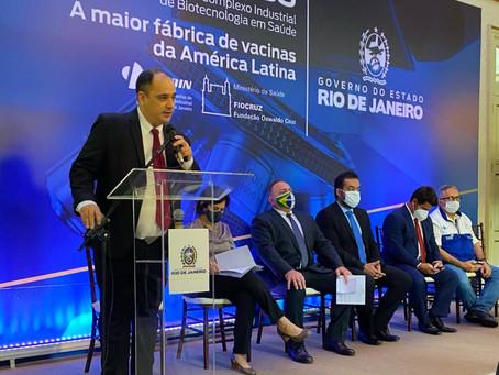 Governo do RJ abre caminho para construção da maior fábrica de vacinas da América Latina...
