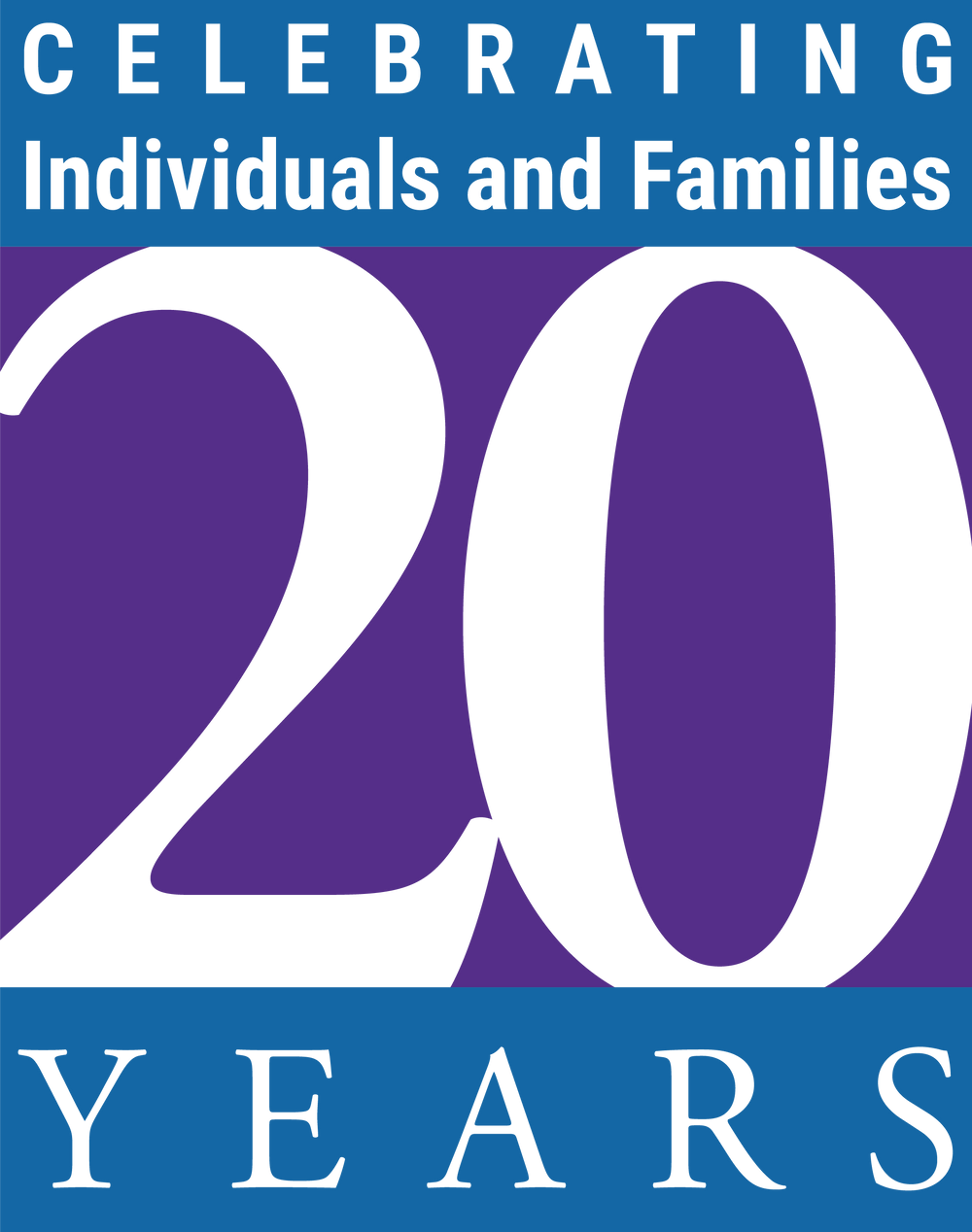 Life Skills & Support 20th Anniversary Logo