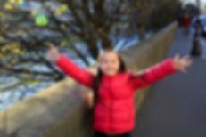 Chica joven con síndrome de Down
