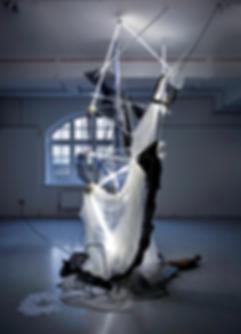 Discordia. light Installation. Ian Barrington. 2018