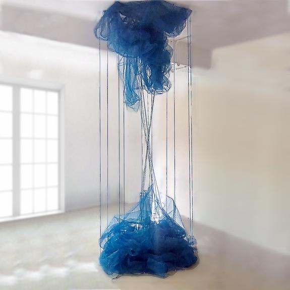 Lifeblood. Installation art. Ian Barrington. 2018