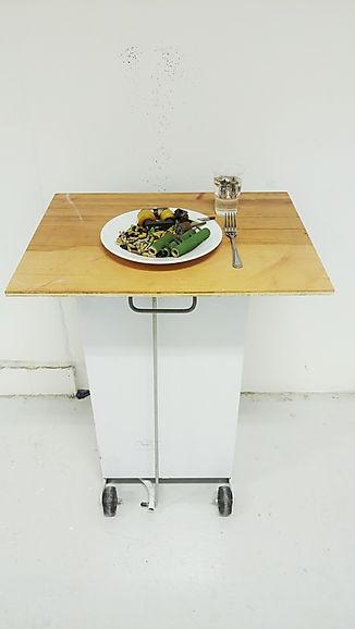 i-Chicken and Rice. Sculpture. Ian Barrington. 2018