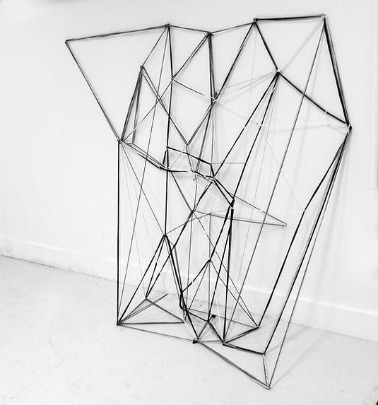 Shield. Installation art. Ian Barrington. 2017