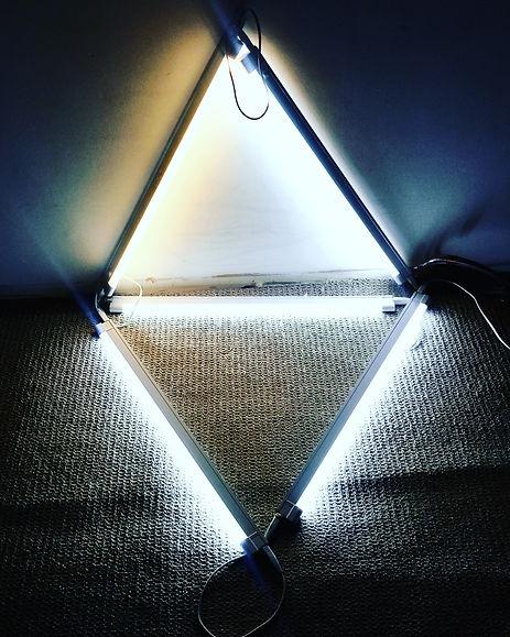Apexrimental. Light installation. Ian barrington. 2018