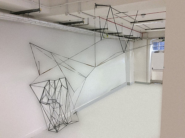 Bridge. Installation art. Ian barrington. 2017