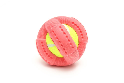 ROOP HOUNDS Cross Ball red
