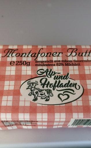 Montafoner Butter  250g