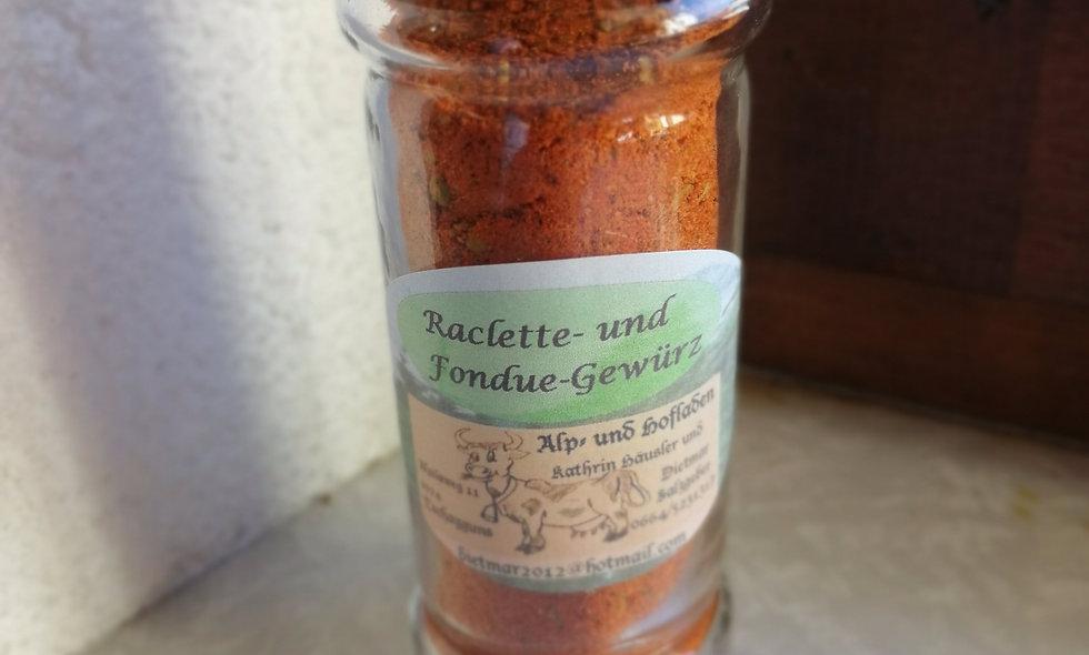 Raclette- und Fondue-Gewürz im Gewürzstreuer