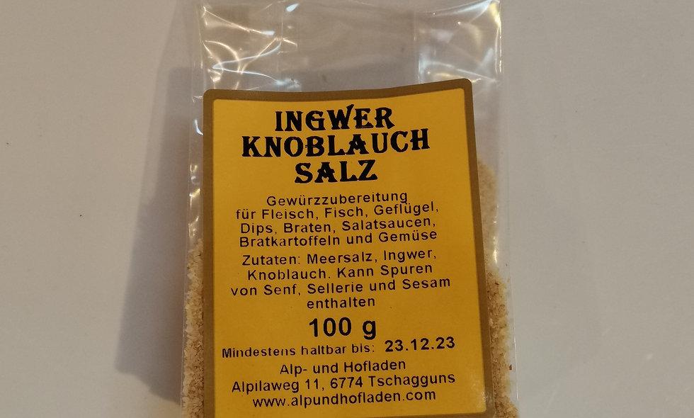 Ingwer - Knoblauch - Salz