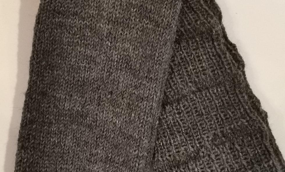 selbstgestrickte Herren-Socken