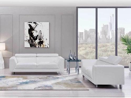 Futuristic Sofa Set (Sofa and Love seat)