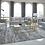 Thumbnail: Glam Grey Velvet Sofa Set