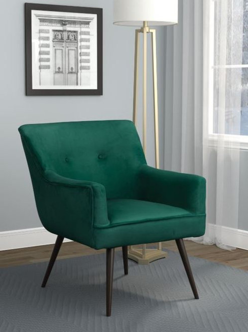 Tory Dark Teal Green Accent Chair