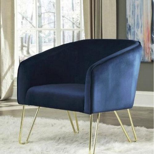 Stylish Velvet Accent Chair