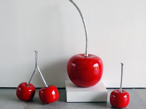 Stylish Glossy Cherry Center Piece