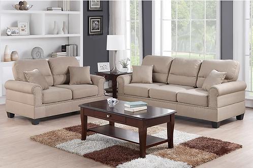 Two Pieces Sofa Set