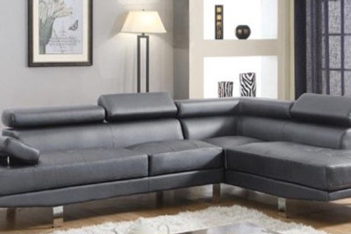 Bounder Leather Sectional