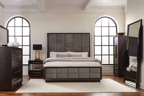 Durango Queen Upholstered Bed 5-piece set