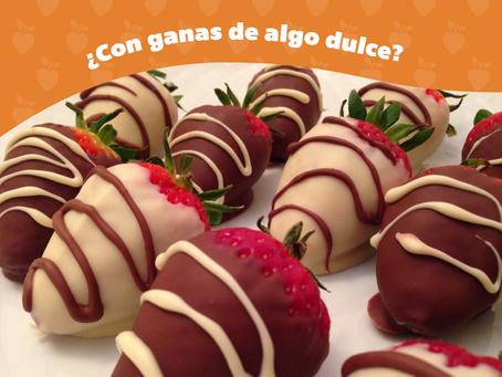 Las fresas con chocolate no pasan de moda