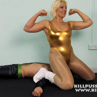 KPW0166 Killpussy Golden Face mash