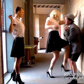 KPW245 Double Trouble School Girl Bullies with Ms F Rank