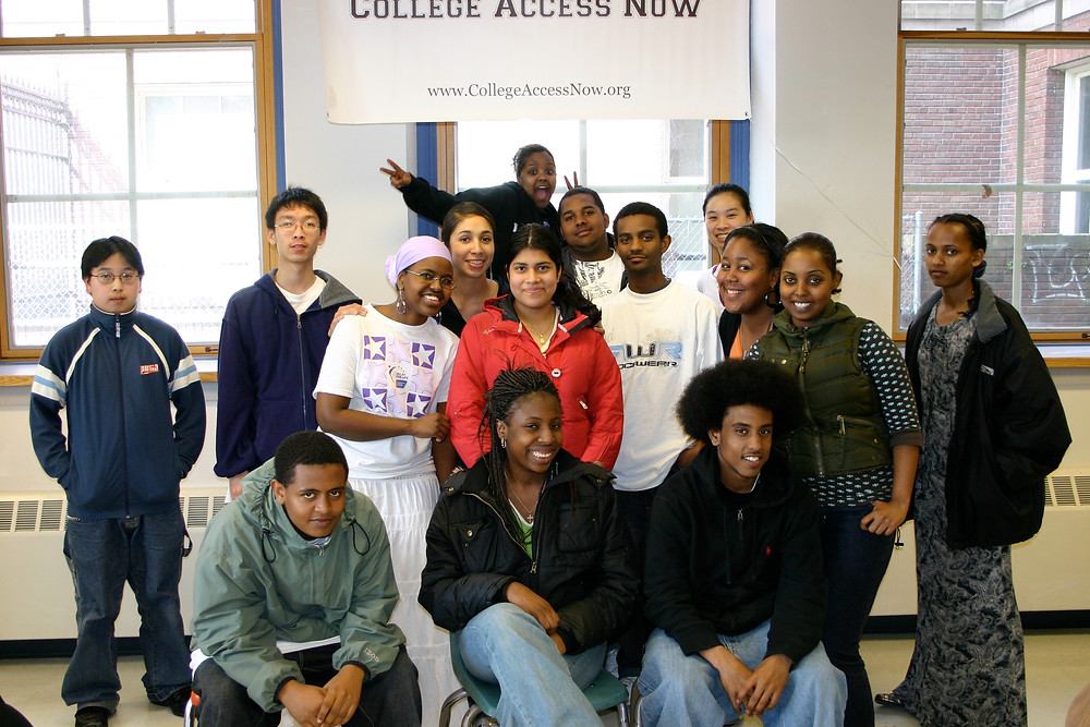 A group of CAN students from 2008 that includes Andrea Wise