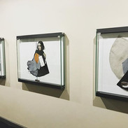 Installation view of Conceal/Reveal