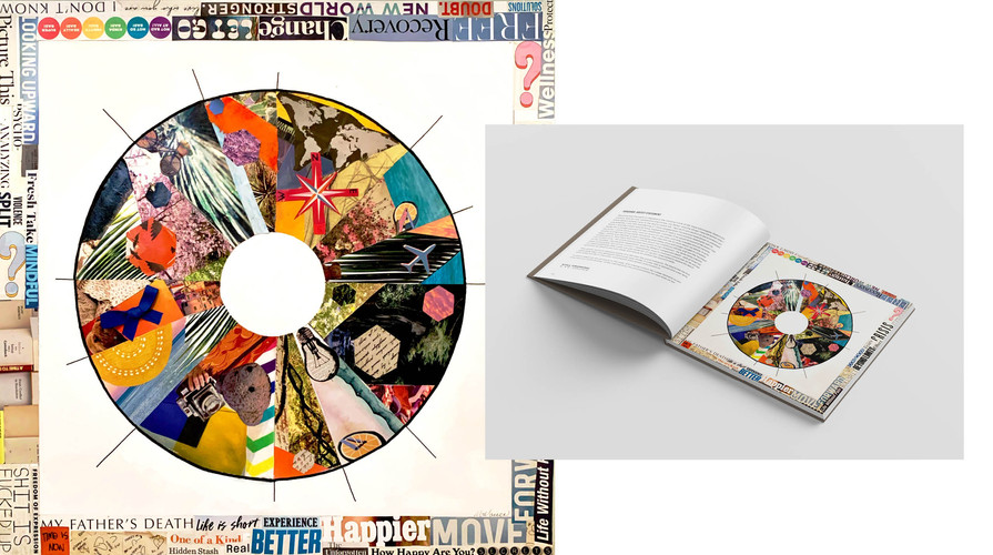REACTION COLLAGE & BOOK MOCKUP