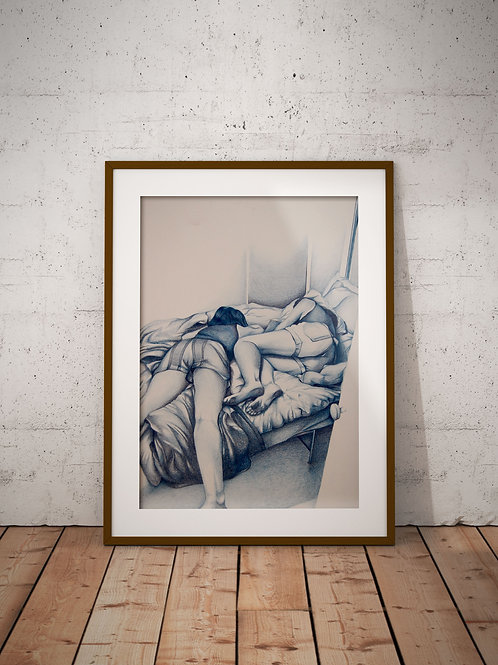 SLEEPING BEAUTIES PRINT