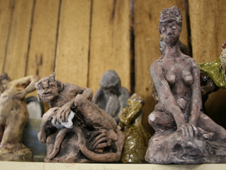 Living the Dream- an exhibition of paintings and sculpture by Noni Drew and Don McOmish