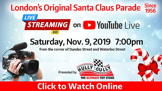 2019 Santa Claus Parade live stream Hull