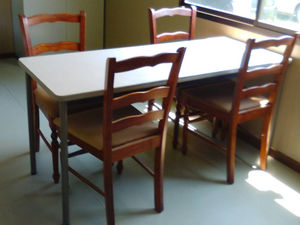豊川市の障害者就労継続支援事業所ベジモファームBの相談室