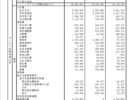 2019年度(平成31年度)事業活動会計報告書