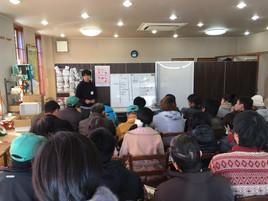 12/15愛知県農業大学校から37名が研修にいらっしゃいました。