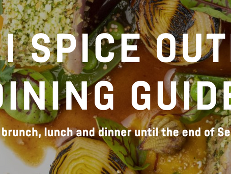 Miami Spice Outdoor Dining Guide