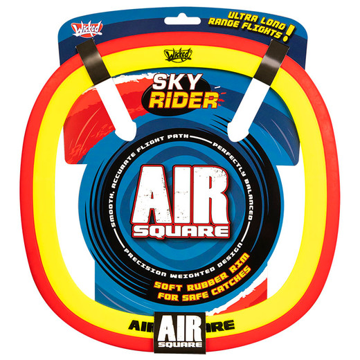 Sky Rider Air Square Red