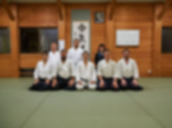 Айкидо Клуб Моврадинови в доджото на Хироаки Кобаяши