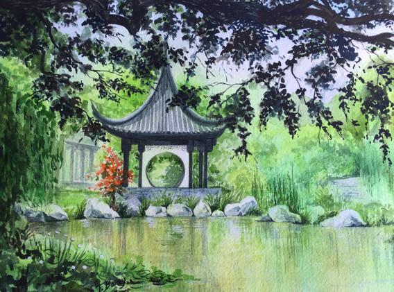 Water Garden.