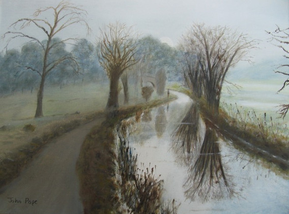 Canal, Winter.