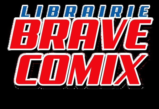 Librarie Brave Comix logo | Brave Comix