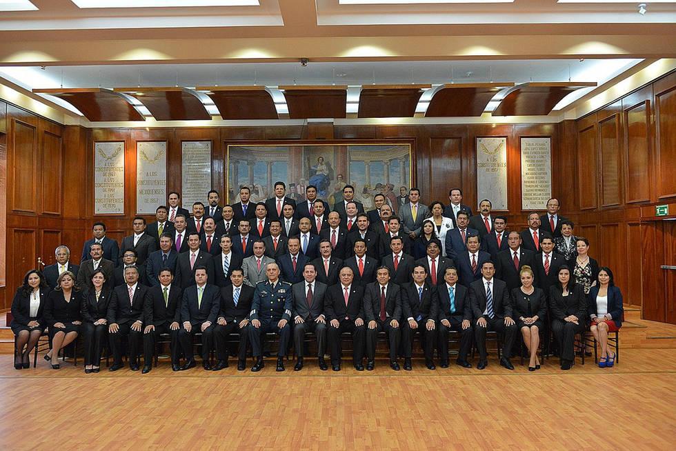 Foto oficial legislatura estado de mexico