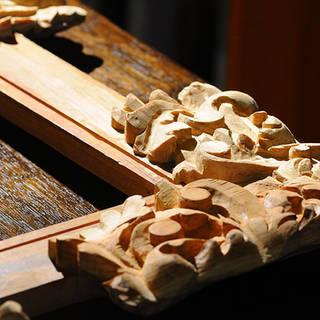 madera esculpida